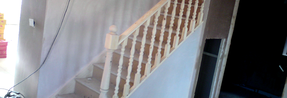 Staircase And Banister
